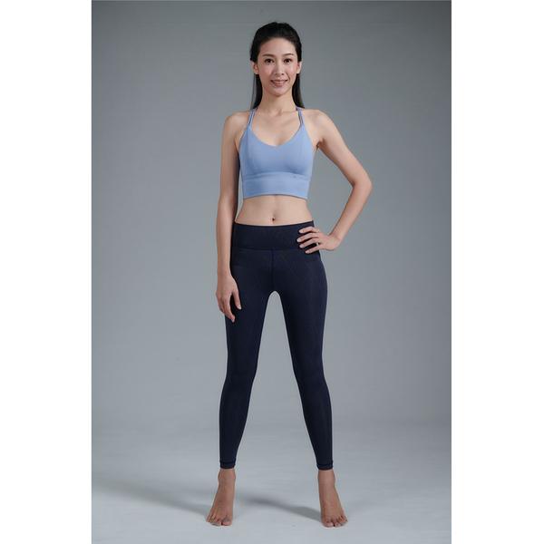 【Yoga Flow】Lala Pants 深藍菱線